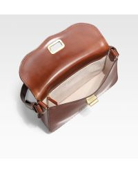 Saddlers Union | Small Leather Flap Bag | Lyst
