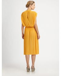 Stella McCartney Pleated Dress - Lyst