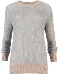 Ted Baker Tiaa Stitch Detail Sweater - Lyst
