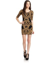 Torn - Casey Baroque Knit Dress - Lyst