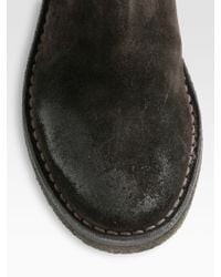 Vince Connor Suede Tall Boots - Lyst