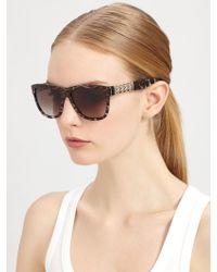 Saint Laurent Square Wayfarer Sunglasses - Lyst