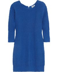 Acne Studios Shore Oversized Chunkyknit Cotton Sweater - Lyst