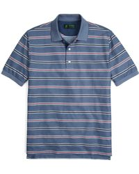 Brooks Brothers St Andrews Links Multistripe Polo - Lyst