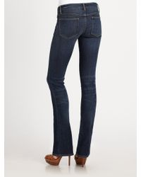 Ralph Lauren Blue Label - Boltonwash Slim Bootcut Jeans - Lyst