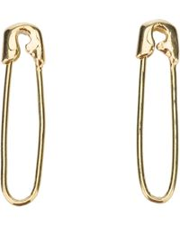 Tom Binns - Signature Safety Pin Earrings - Lyst