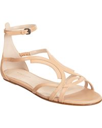 Bottega Veneta Stylized Closed Back Sandal - Lyst