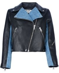 Acne Studios Rita Denim Jacket - Lyst