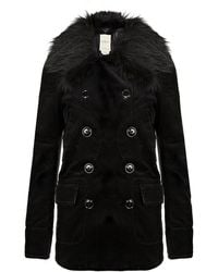 Denim & Supply Ralph Lauren - Corduroy Pea Coat - Lyst