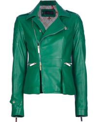 DSquared² Lamb Skin Jacket - Lyst