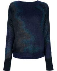 Theyskens' Theory Knit Sweater - Lyst