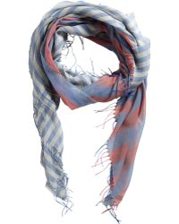 Acne Block Striped Scarf - Lyst