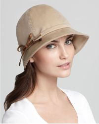 Burberry Gabrielle Cotton Rain Bucket Hat - Lyst