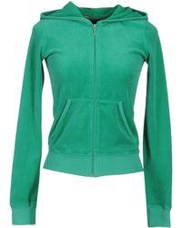 Juicy Couture Hooded Sweatshirt - Lyst