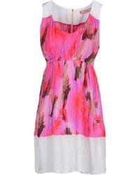 Angelo Marani Short Dresses - Lyst