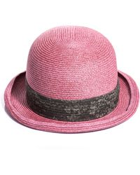 Marc Jacobs - Woven Paper Hat - Lyst