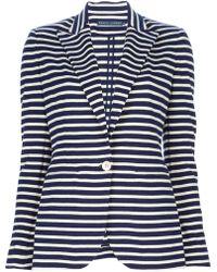 Ralph Lauren Blue Label - Striped Blazer - Lyst