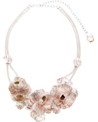Lara Bohinc Roses in Bloom Necklace - Lyst