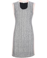 Diane von Furstenberg Tweed Panel Dress - Lyst