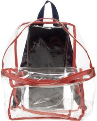 American Apparel - Clear Backpack - Lyst