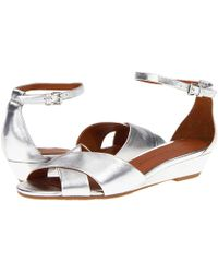 Marc By Marc Jacobs Clean Metallic Wedge - Lyst