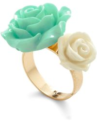 ModCloth Retro Rosie Ring in Blossoms - Lyst