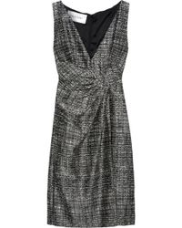 Valentino Tweed Wrapeffect Sheath Dress - Lyst