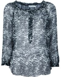 Etoile Isabel Marant Silk Blouse - Lyst
