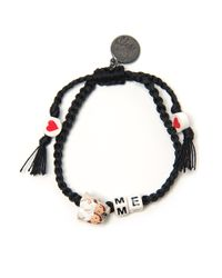 Venessa Arizaga Marry Me Girl Bracelet - Lyst