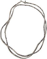 Alyssa Norton - Rhinestone Wrap Necklace - Lyst