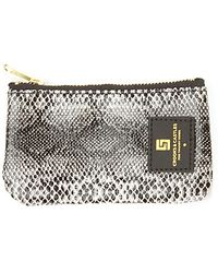 Crooks And Castles The Reptillo Coin Pouch in Snakeskin - Lyst