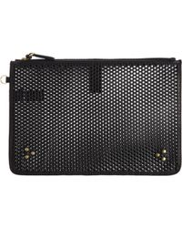 Jérôme Dreyfuss - Perforated Large Popoche Pouch - Lyst