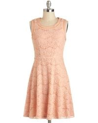 ModCloth Chain Your World Dress - Lyst