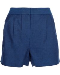 T By Alexander Wang Dart Detail Shorts - Lyst