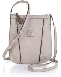 Guess Layna Mini Crossbody Top Zip - Lyst