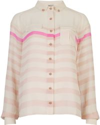 Ted Baker Jasmina Striped Shirt - Lyst