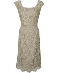 Dolce & Gabbana Fitted Dress - Lyst