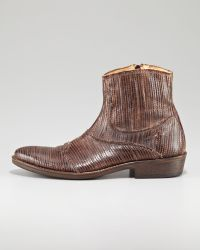 True Religion | Laseretched Ankle Boot | Lyst
