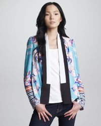 Clover Canyon - Prism Orchid Tuxedo Jacket - Lyst