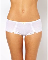 Freya White Gem Short - Lyst