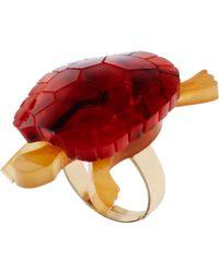Tatty Devine - Tortoise Ring - Lyst