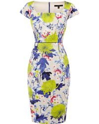 Coast Floret Dress - Lyst