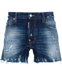 DSquared² Denim Short - Lyst