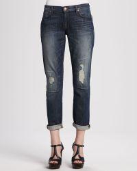 J Brand Aidan Bigtime Distressed Cuffed Jeans - Lyst