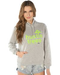 LRG - The Hustle Trees 13 Pullover Hoody in Ash Heather - Lyst