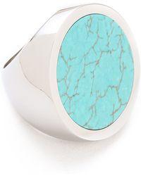 Michael Kors - Turquoise Slice Ring - Lyst