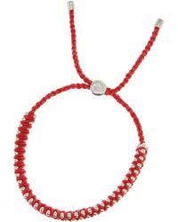 Monica Vinader Rio Sterling Silver Beaded Bracelet - Lyst