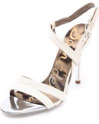 Sam Edelman Abbott High Heel Sandals - Lyst