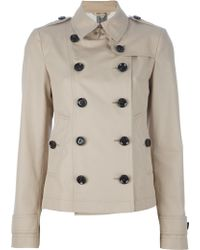 Burberry Dukesby Trench Coat - Lyst