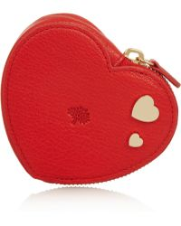 Mulberry | Valentines Textured Leather Coin Purse | Lyst